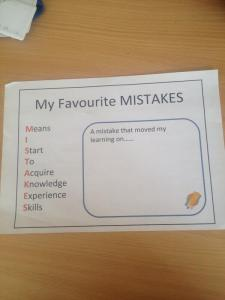 My Favourite mistakes