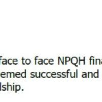 Doing NPQH as a member of SLT