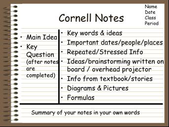 CornellNotes