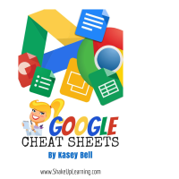 Google cheat sheets