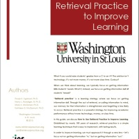 Retrieval Practice - to improve student learning